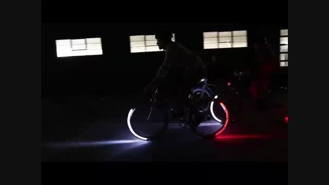 دوچرخه هوشمند با سیستم نورپردازی جدید - امروز آنلاین