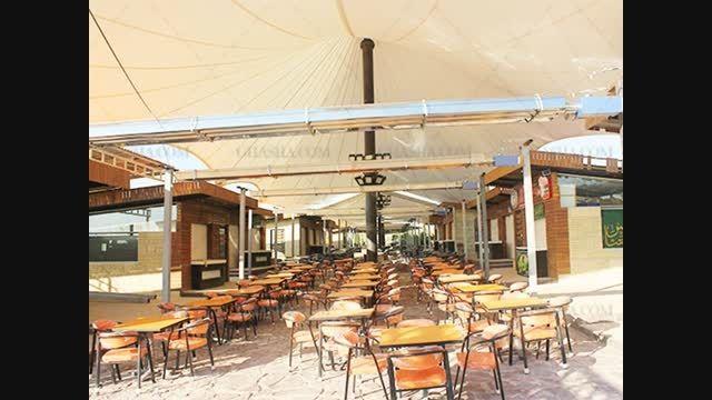 طرح جدید سقف رستوران - طرح 2015 سقف رستوران