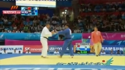 پیروزی محجوب مقابل حریف چینی
