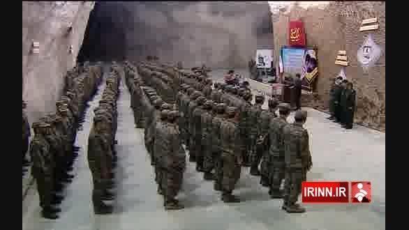 پایگاه موشکی سپاه پاسداران در عمق 500 متری زمین