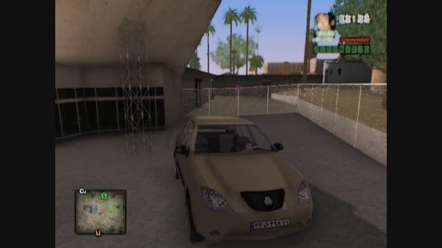 ماشین تیبا ایرانی برای بازی Gta Sa