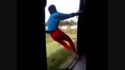 ماجراجویی مرگبار یک جوان در قطار تندرو