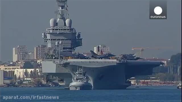 حملات هوایی سنگین روسیه و فرانسه علیه داعش
