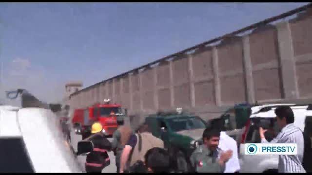 تصاویری از انفجار امروز کابل!!!
