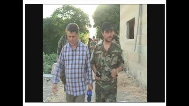 اولین تصویر از خبرنگار مجروح ایرانی در لاذقیه سوریه