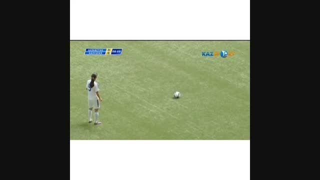 یه گل فوق زیبا در فوتبال زنان