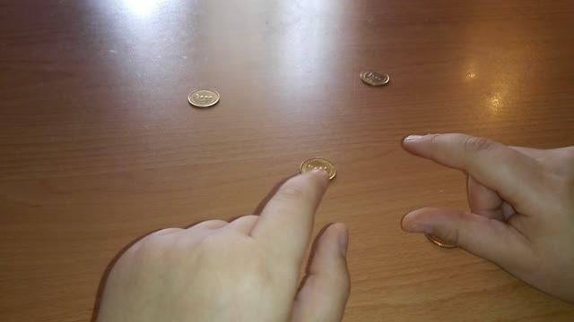 شعبده بازی با سکه