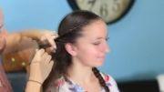 آموزش مدل موی توری پیچ