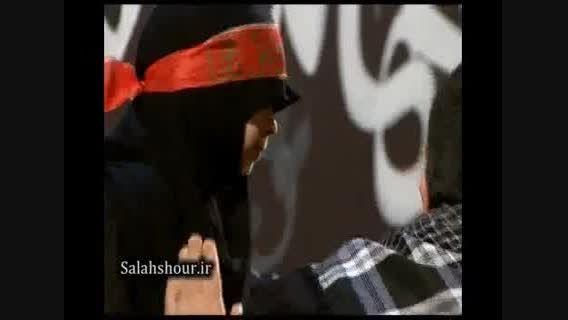 روضه ی حضرت رقیه ی حاج مهدی سلحشور برای دختر خردسالش