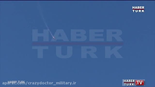 سرنگونی سوخو 24 (su-24 ) روسیه توسط ترکیه, شمال سوریه