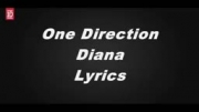 lyrice اهنگ diana از ONE DIRECTION