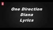 lyrice اهنگ diana از ONE DIRECTION