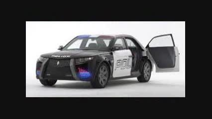ماشین پلیس های امریکا
