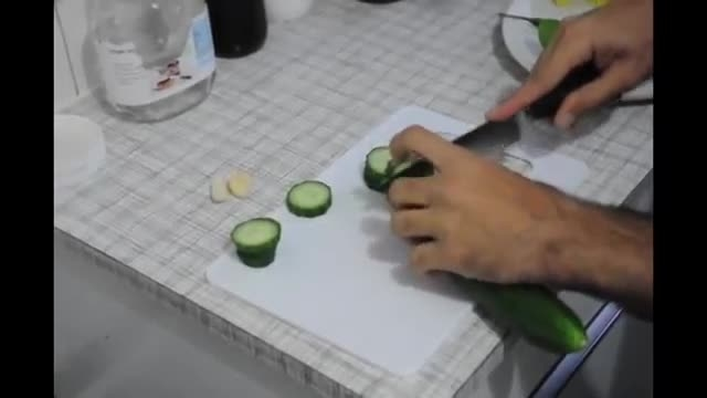 How To Make Very Easy Pickled Cucumber - آموزش درست کرد