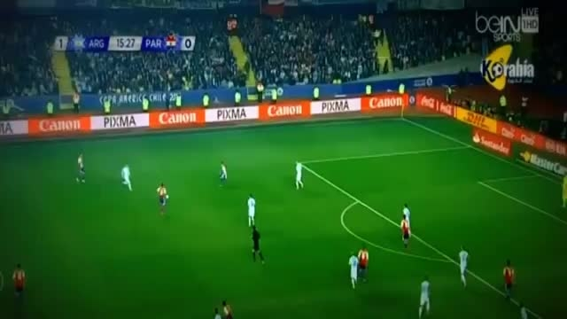خلاصه بازی : آرژانتین 6 - 1 پاراگوئه (کوپا آمریکا)