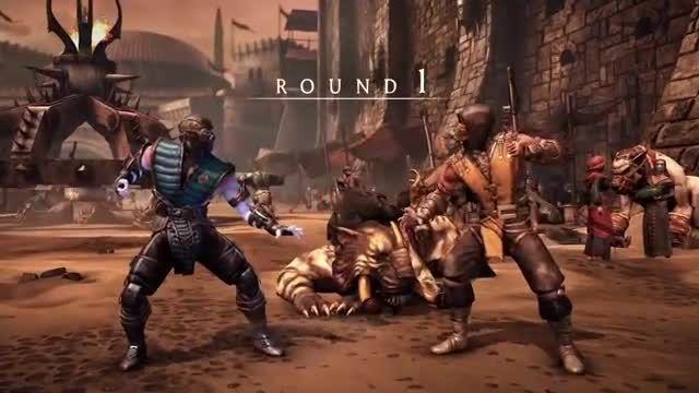 بخش های پنهان در Mortal Kombat X را مشاهده کنید
