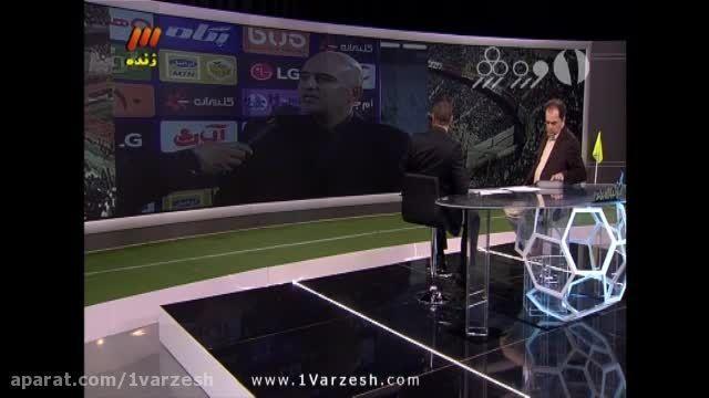 صحبت های برانکو و حنطه پس از پیروزی سرخ پوشها