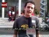 شعرخوانی شاعر جوان انگلیسی علیه اقدامات نظامی غرب در خاورمیانه