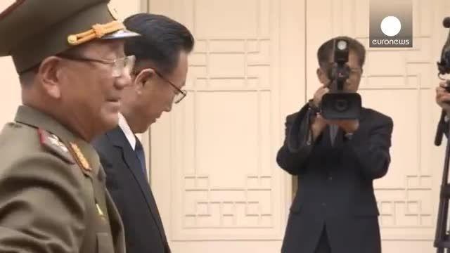 مذاکره مقامات ارشد کره شمالی و کره جنوبی در یک روستا
