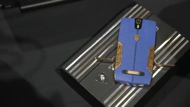 گوشی هوشمند ۶۰۰۰ دلاری تونینو لامبورگینی در CES