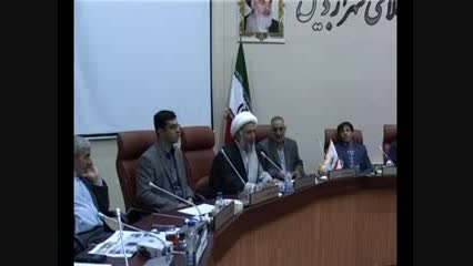 محمدرضا سرداری - جلسه استعفا از شورای اسلامی