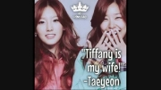 حرف ته یون درباره ی تیفانی!!!