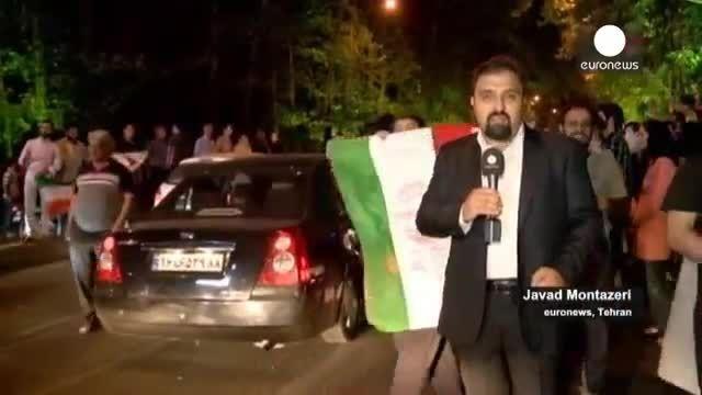 شادی ایرانیها از دستیابی به توافق هسته ای و امید
