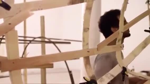 ساخت استودیوی هنری خلاقانه توسط یك معمار