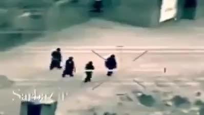 قتل 4 داعشی بگونه ای دیگر . - عراق - سوریه