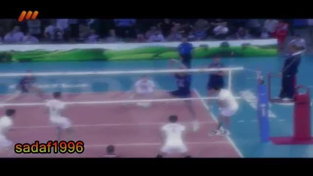 دنیا فقط والیبال....هورا آمریکا رو بردیم....