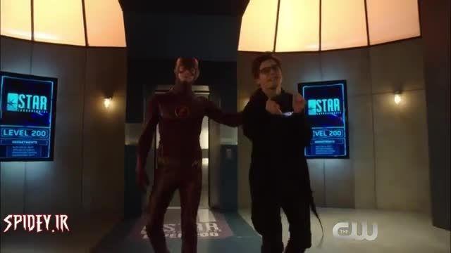قسمتی از فیلم the flash