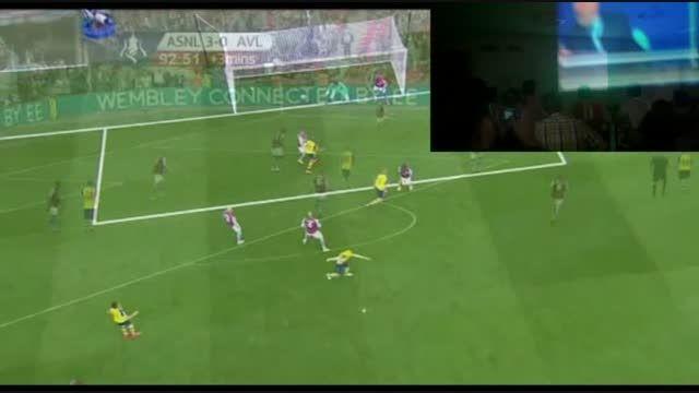 فینال جام حذفی انگلستان 2015(تماشای گروهی در مشهد)