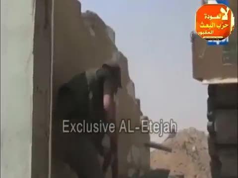 شکار 4 تروریست داعشی در حال فرار  - عراق