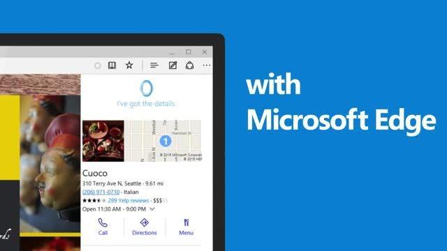 10 دلیل برای ارتقا به ویندوز 10:مروگر مایکروسافت اج