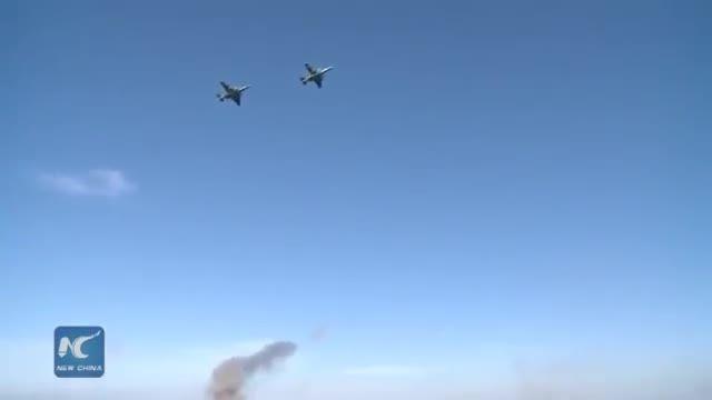 تمرین سوخو25 Su-25 در تمرین نظامی مشترک روسیه و بلاروس