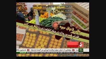 وقتی قاچاق میوه اقدام شیرین وزارت جهاد کشاورزی را تلخ م