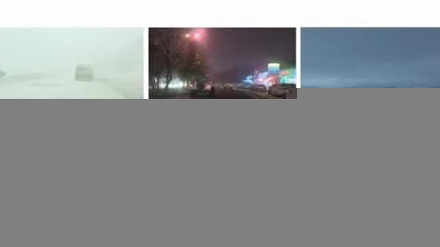 گزارشی از بارش برف در شهرهای کشور (16 آذر 94)