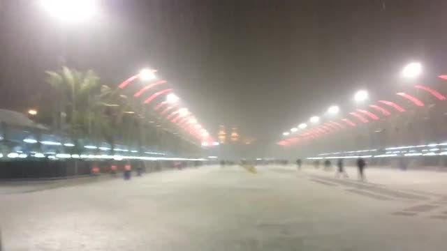 بارش سنگین باران در بین الحرمین