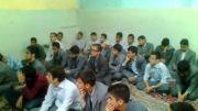 اعلام انزجار دانش آموزان و کادر دبیرستان از جنایات تروریست ها در سوریه