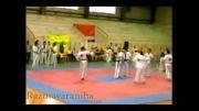 اجرای حرکات فنی در میت(میان مسابقات کشوری سال 90)