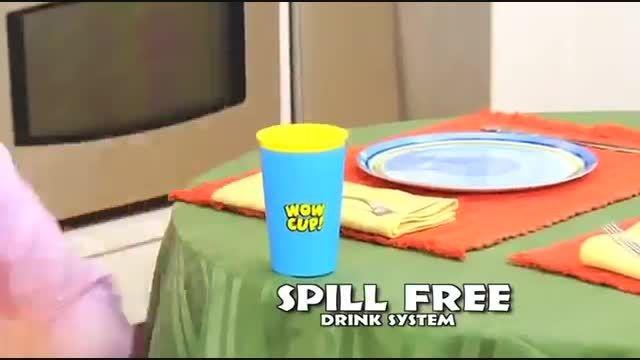 لیوان جادویی - بدون ریزش