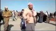 نماز عجیب و غریب یک عراقی در شهر الانبار عراق!!!!