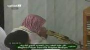 امام جماعت عرب و شیرین کاری در صف میلیونی خانه کعبه