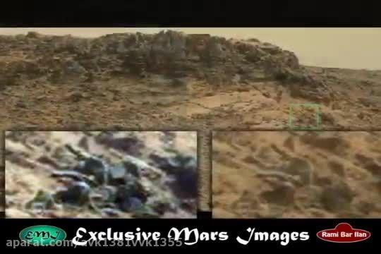 رئیس ناسا می گوید این است که زندگی در مریخ وجود دارد...