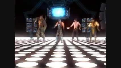 حرکات موزون شخصیت های MK