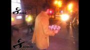 شب تاسوعا پخش نذری در بین عزاداران + فیلم و عکس