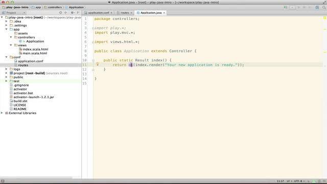 معرفی Play Framework برای برنامه نویسان جاوا