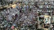 تصاویر ماهواره ای از مناطق سوزانده شده توسط بوداییان میانمار