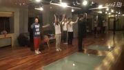 پشت صحنه تمرین رقص لی مین هو