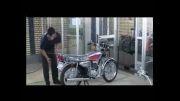 خط تولید انواع موتور سیکلت - گروه صنعتی کثیر